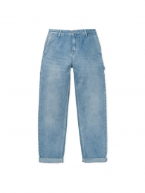 Carhartt WIP W Pierce Pant (blue light stone washed)