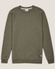 Cleptomanicx Tagger Sweater (dusty olive)