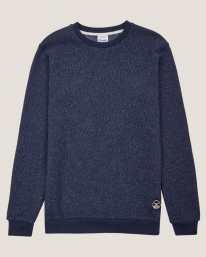 Cleptomanicx Tagger Sweater (dark navy)