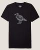 Cleptomanicx Vision Gull T-Shirt (black)