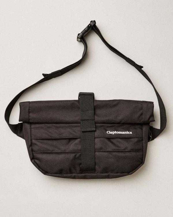 Cleptomanicx Tap L Hipbag (black)