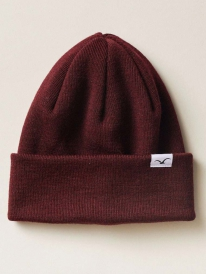 Cleptomanicx Wind Merino Beanie (windsor wine)
