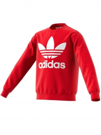 Adidas Trefoil Kids Sweater (scarlet/white)