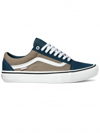 Vans Old Skool Pro (dress blue/portabella)