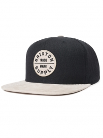 Brixton Oath 3 Cap (black/vanilla)