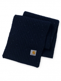 Carhartt WIP Anglistic Plain Schal (dark navy heather)