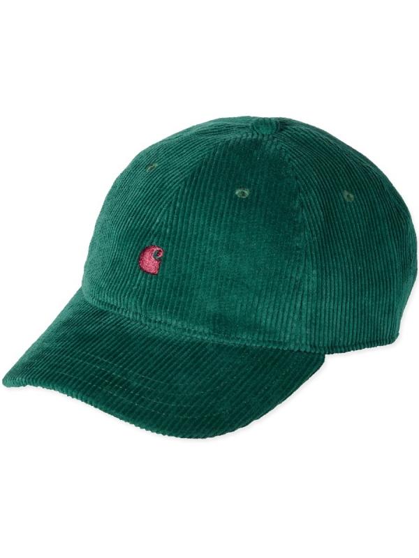 Carhartt WIP Harlem Cap (dark fir/merlot)
