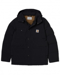 Carhartt WIP Alpine Coat (black/hamilton brown)
