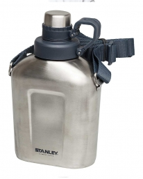 Stanley Edelstahl Feldflasche 1,0 L (Edelstahl)