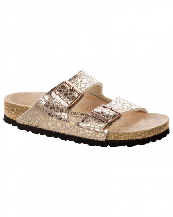 Birkenstock Arizona (metallic stones copper)