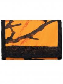 Carhartt WIP Payton Wallet (camo tree orange/black)