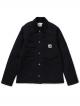 Carhartt WIP W Michigan Jacket gefüttert (black/black rinsed)