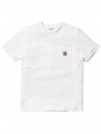 Carhartt WIP Pocket T-Shirt (white)