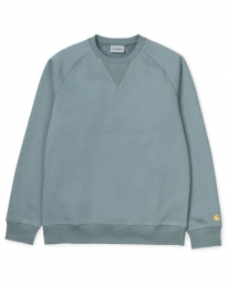 Carhartt WIP Chase Sweater (cloudy/gold)