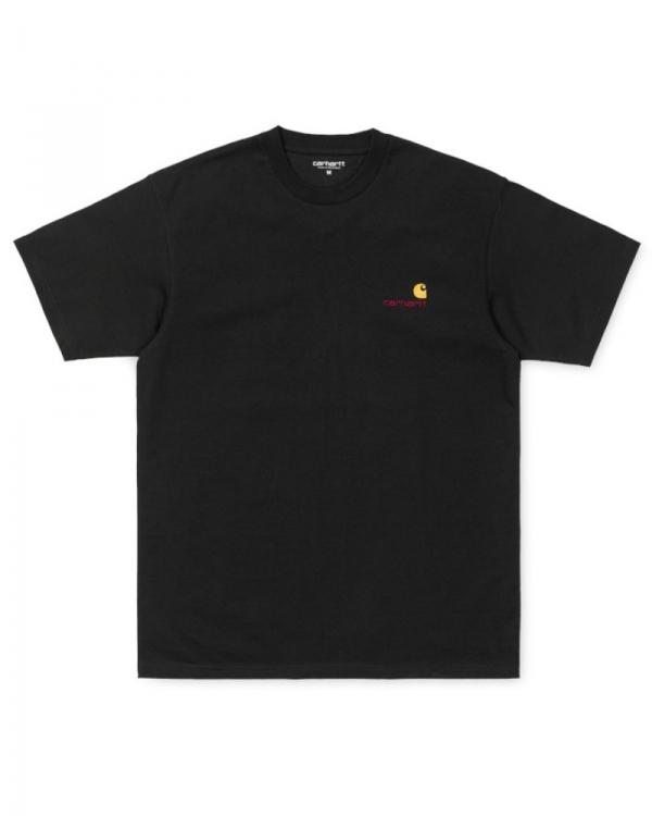 Carhartt WIP American Script T-Shirt (black)
