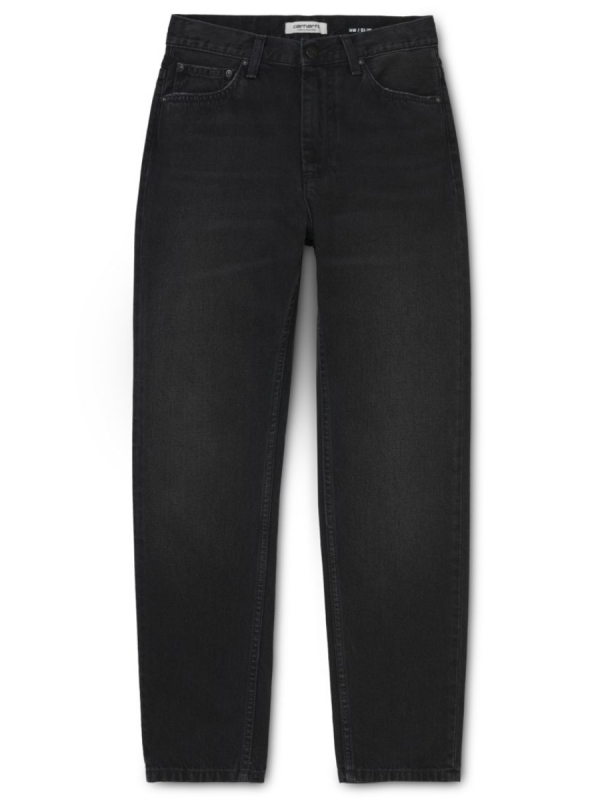 Carhartt WIP W Page Carrot Ankle Pant (black 90s wash)