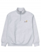 Carhartt WIP American Script Half Zip Sweater (ash heather)