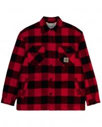 Carhartt WIP Merton Shirt Jac (merton check/cardinal)