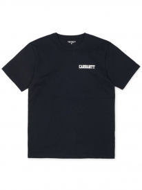 Carhartt WIP College Script T-Shirt (black/white)