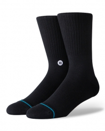 Stance Icon Socken (black/white)