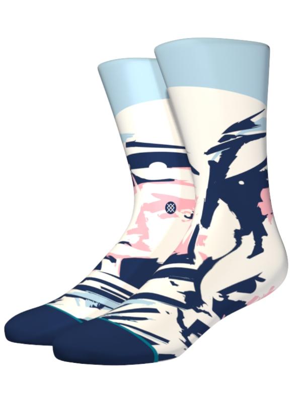 Stance Pilot Socken (blue)