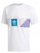 Adidas Campeonato T-Shirt (white/grey one/collegiate purple/active teal)