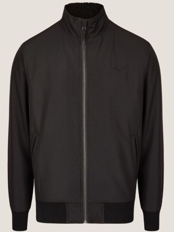 Cleptomanicx Easy Jacket (black)