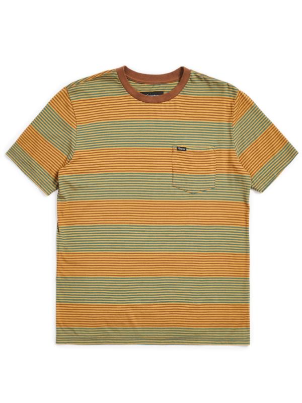 Brixton Hilt Pocket T-Shirt (bison)