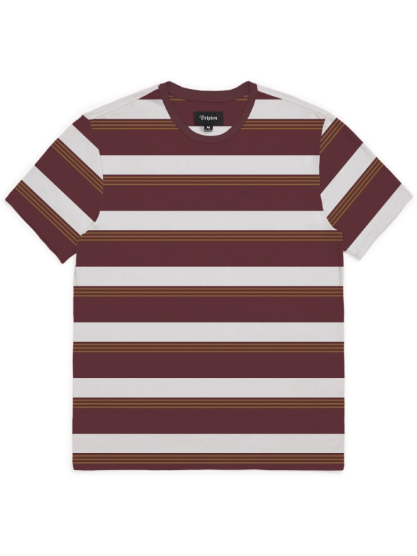 Brixton Hilt T-Shirt (maroon)