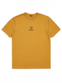 Brixton Main Label II T-Shirt (maize)