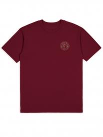 Brixton Rival II T-Shirt (burgundy/grey)