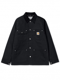 Carhartt WIP Michigan Coat (black rigid)