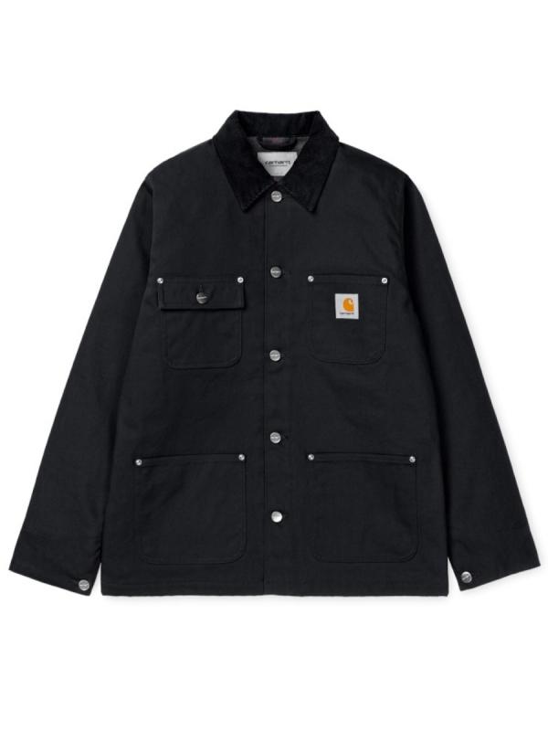 Carhartt WIP Michigan Coat (black rigid)