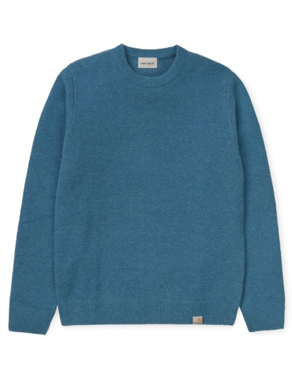 Carhartt WIP Allen Sweater (prussian blue)