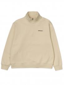 Carhartt WIP W Script Highneck Sweater (flour/black)