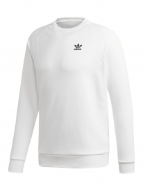 Adidas Essential Crew Sweater (white/black)