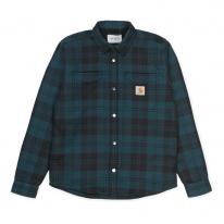 Carhartt WIP Pulford Shirt Jac (pulford check/duck blue)