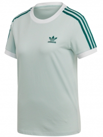 Adidas 3 Stripes T-Shirt (vapour green)