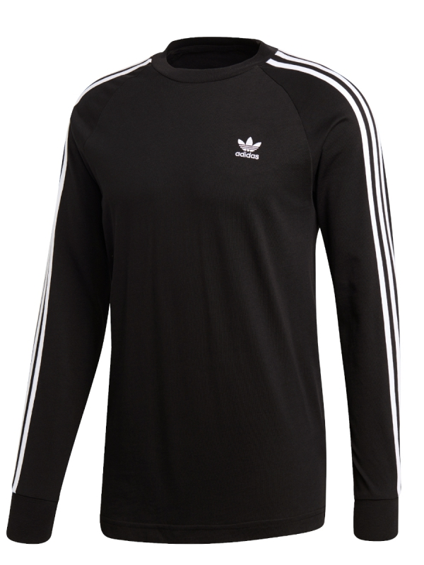 Adidas 3 Stripes Longsleeve (black)