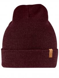 Fjällräven Classic Knit Hat (dark garnet)