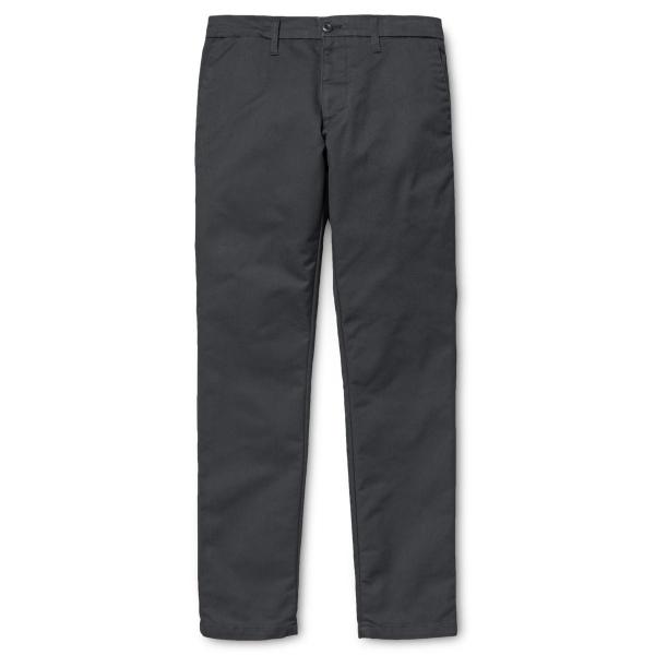 Carhartt WIP Sid Pant (black rinsed)