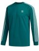 Adidas 3 Stripes Longsleeve (vape green)