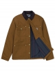 Carhartt WIP Michigan Coat (hamilton brown rigid)