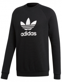 Adidas Trefoil Crew Sweater (black)