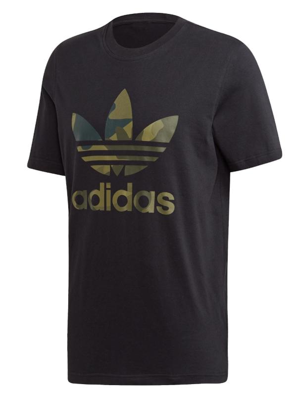 Adidas Camo Infill T-Shirt (black/multicolour)