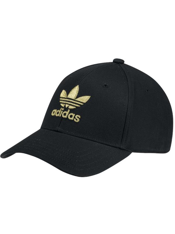 Adidas Baseball Classic Trefoil Cap (black/gold)