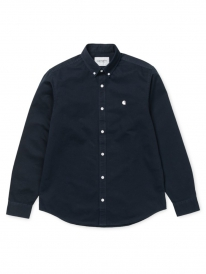 Carhartt WIP Madison Hemd (dark navy/wax)