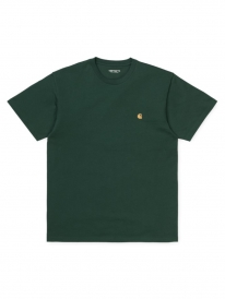 Carhartt WIP Chase T-Shirt (treehouse/gold)