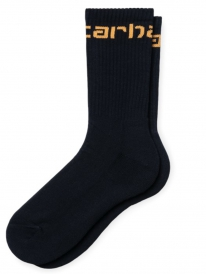 Carhartt WIP Carhartt Socken (dark navy/pop orange)