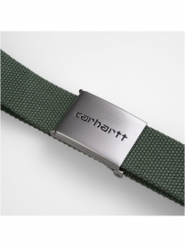 Carhartt WIP Clip Chrome Gürtel (dollar green)